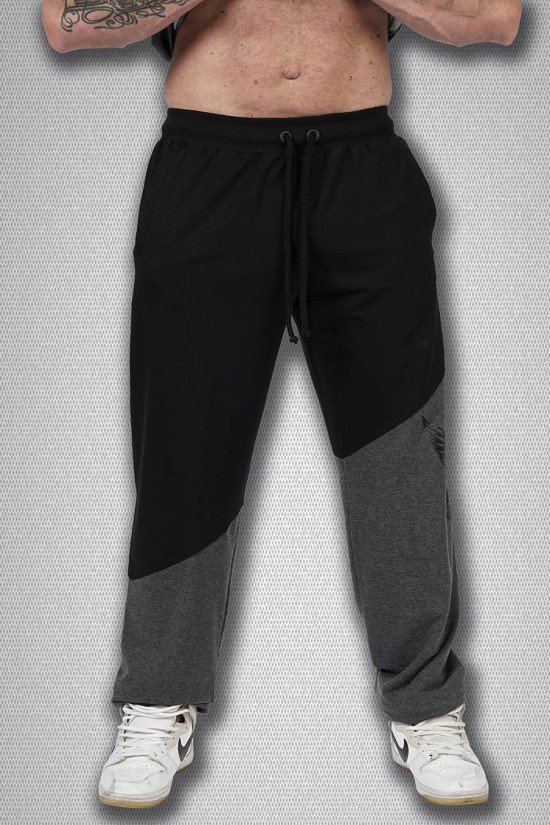 Штаны 1654 черно-серый