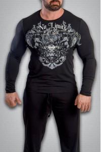 футболка 3475 черная
