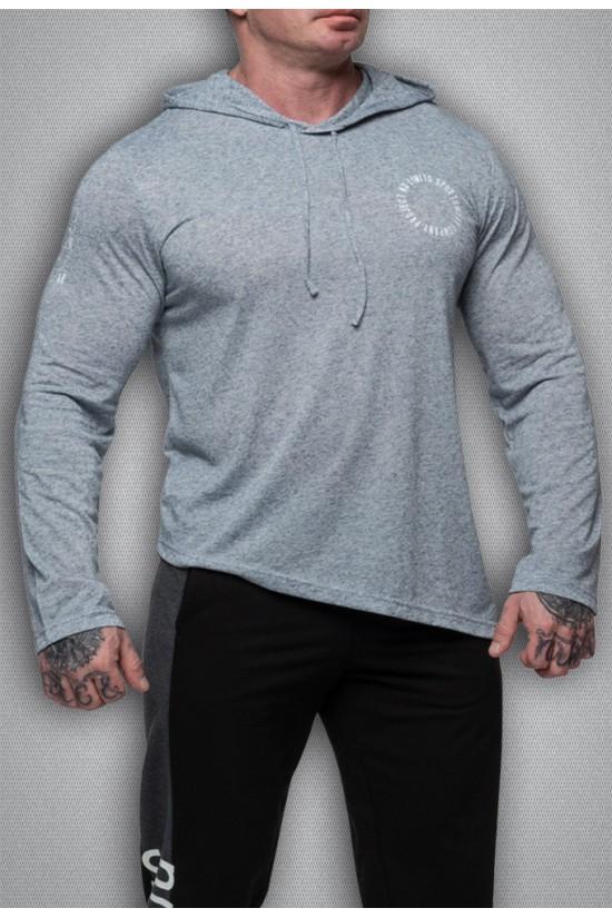 футболка 3318 серый