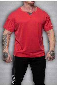 футболка 3386 красный