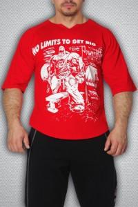 футболка 3390 красная