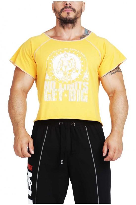 Футболка 3389 желтая