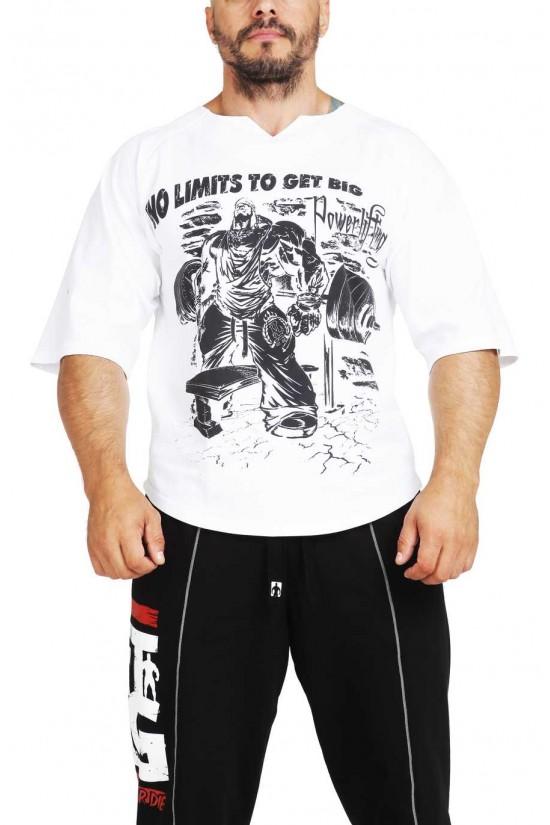 футболка 3390 белая