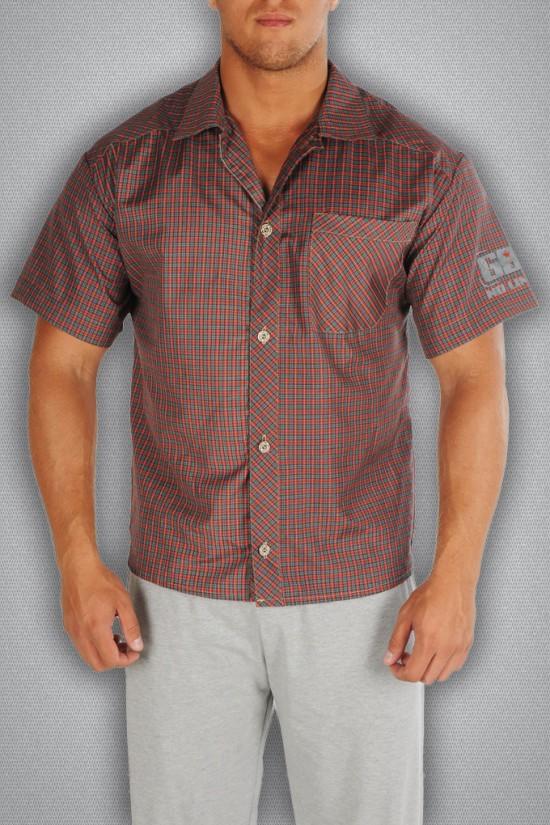 Рубашка 3490 красная