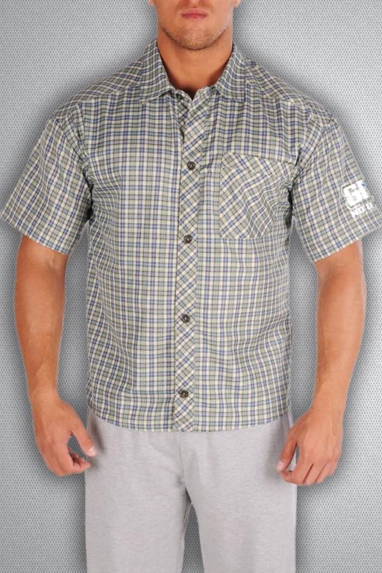 Рубашка 3490 серая