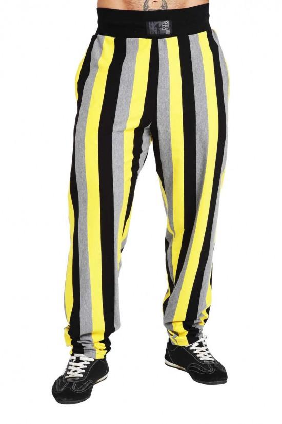 Штаны 1521 черно-желтые