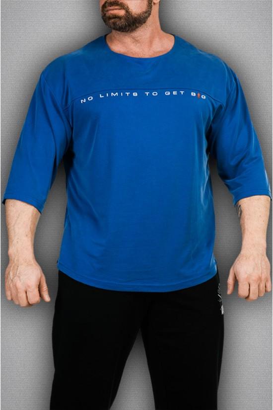 Футболка 3369 синяя