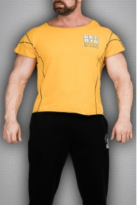 Футболка 3989 желтая