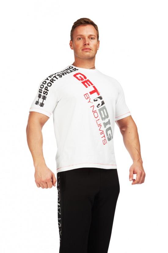 футболка 3474 белая