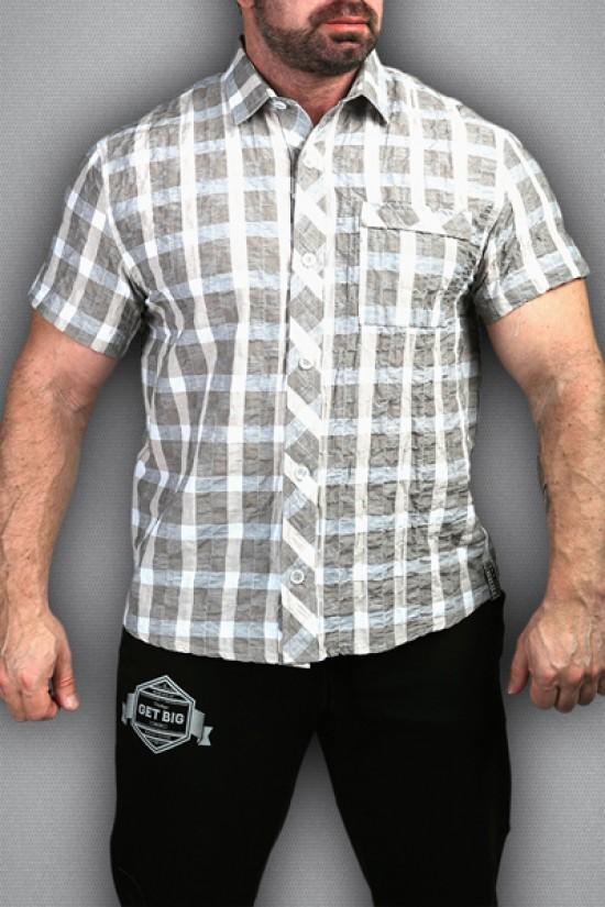 рубашка 3490 бежевая